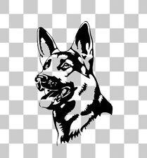 German Shepard Puppy Cute Dog Car Bumper Window Laptop Wall Vinyl Decal Sticker