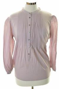 Kew-haut-femme-chemisier-violet-taille-14-grandes-coton
