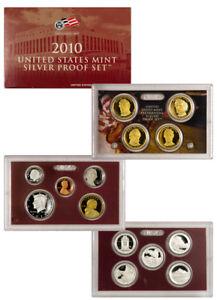 2010-S-United-States-US-Mint-14-pc-Silver-Proof-Set-SKU22296