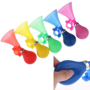 Kids Bike Alarm Bell Silicone Hooter Child Bicycle Squeeze Horn Toy Hooter G ZSH