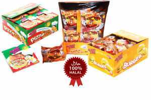Halal-Gummi-Zone-Pizza-Mini-Big-Burger-Party-Fillers-Bag-Sweets-Candy-Gift