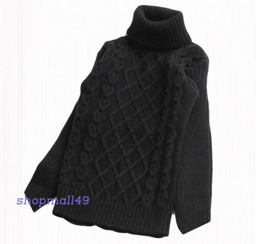Pullover Jungen Mädchen Winter Pulli Winterpullover Langarm Sweater Gr 92-152