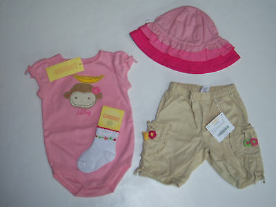 NWT Gymboree Monkey Island Boys Silly Banana Socks 0-3