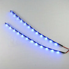 2PC Waterproof Strip Light 12 LEDs 30cm 5050 SMD LED Flexible 12V Home Car Decor