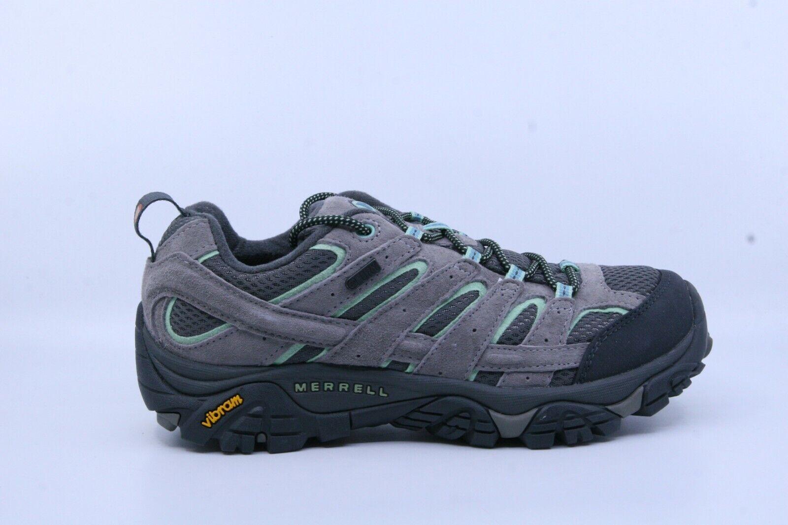 Merrell J06028 para mujer zapatos para excursionismo a prueba de agua Moab 2 llovizna menta nos 7