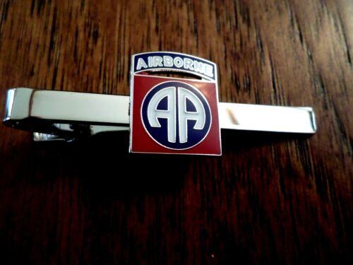 Milicia DE EE 82nd Airborne Division Tie Bar Corbata TAC Hecho En U.s.a UU