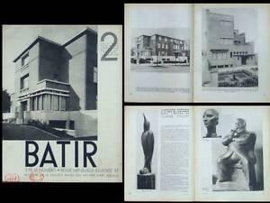 Alerte Batir N°2 1933 Henry Van De Velde, Chana Orloff