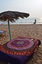 Indian Mandala Tapestry Cotton Sheet Hippie Gypsy Bohemian Beach Spread Boho Yog