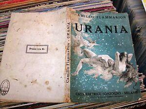 URANIA-di-C-FLAMMARION-1928-C-E-SONZOGNO-libro-di-fantascienza-antico