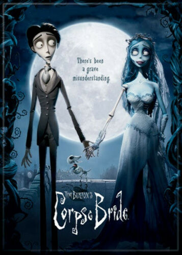 Tim Burton/'s Corpse Bride Movie Poster Image Refrigerator Magnet NEW UNUSED