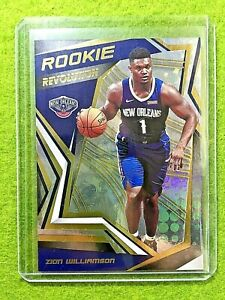 ZION-WILLIAMSON-PRIZM-ROOKIE-CARD-RC-REFRACTOR-2019-20-Panini-Revolution-PELICAN