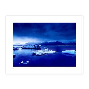 Arctic-Ocean-Ice-Icebergs-Canvas-Wall-Art-Print
