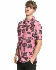 QUIKSILVER Men's Fluid Geo Short Sleeve Shirt