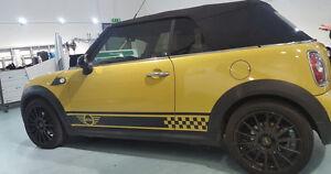 Mini-Cooper-S-Mini-One-Side-Car-Stripes-Vinyl-Graphics-Decal-Sticker-clubman