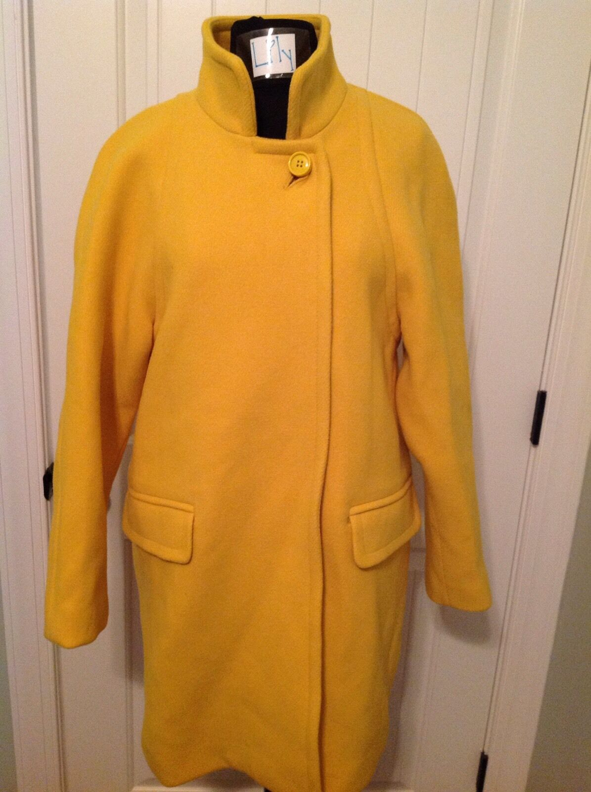 J.CREW STADIUM-CLOTH STANDING-COLLAR COAT - SIZE 8 - SOLD OUT COLOR