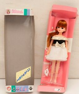 Takara-Vintage-Licca-Doll-1984-Party-Dress-HTF-Rika-Chan-Ningyo-Kawaii-Japan