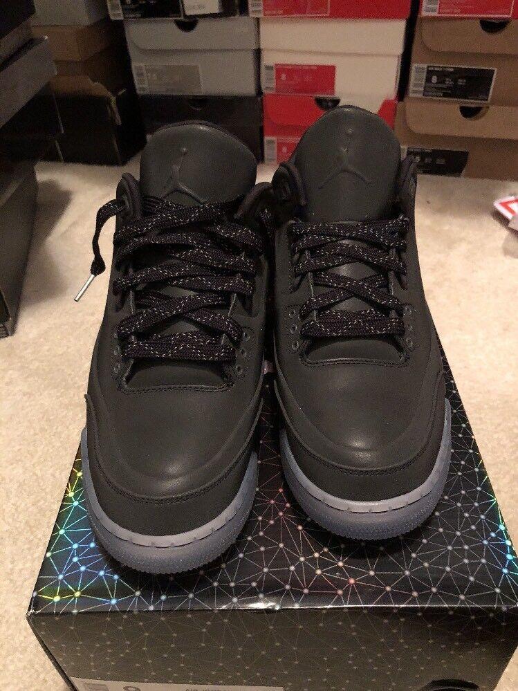 New With Box. Nike Air Jordan 5 Lab 3 Black/Clear-Sz 8-631603-010 Great discount