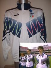 Italy Italia World Cup Tracksuit Top Adult XL Diadora 1994 Shirt Football Soccer