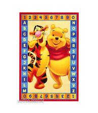 Tappeto Winnie Pooh+Tigro Numeri+Lettere 100x170 Disney
