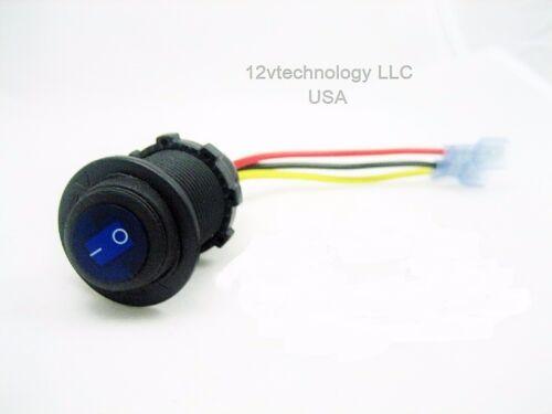 Voltmeter Switch Panel Outlet Wires 12V  LED Socket USB 3.1 Amp Charger
