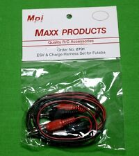 MAXX FUTABA ESV & Charge Harness Set W Banana PLG # 2701 New FREE SHIPPING