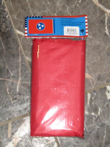 3x5 State of Tennessee Double Sided 3ply w// Liner Flag 3/'x5/' Brass Grommets