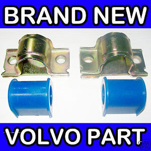 Volvo-S60-09-S80-V70-07-Front-Anti-Roll-Bar-Bush-Repair-Kit-25mm-Bar