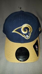 half off e74b8 8f7f9 Image is loading NFL-LA-RAMS-NEW-ERA-9-TWENTY-BLUE-