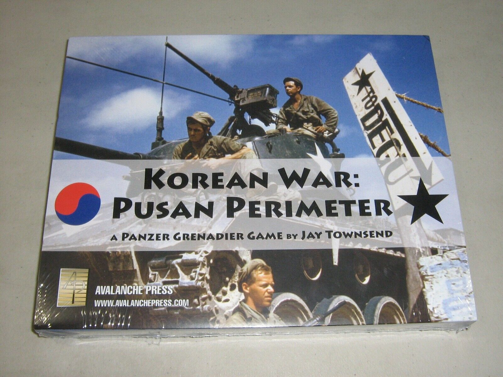 Korean War  Pusan Perimeter (New)