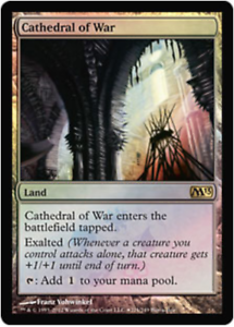 MTG X1: Cathedral of War *FOIL* FREE US SHIPPING! Buy a Box Promo LP R