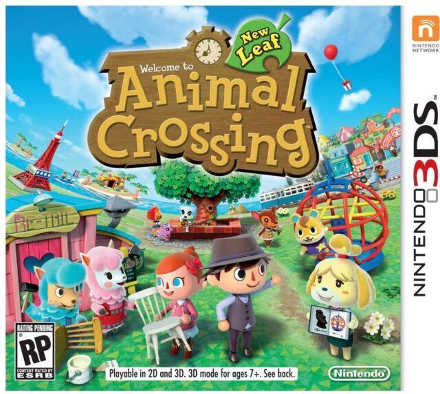 US 3ds Version Animal Crossing Leaf Nintendo Full Game Download Card/code