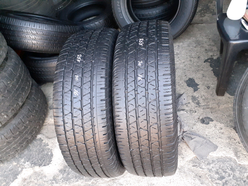 High performance tyres on affordable prices   255  70  16
