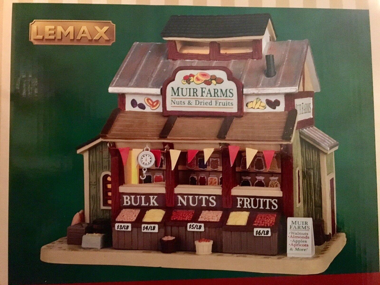 LEMAX Christmas Village Muir Farms Farms Farms eb6dac