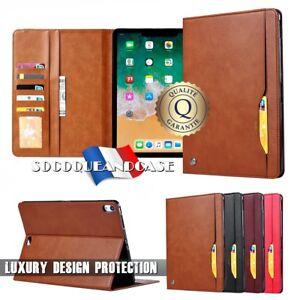 Etui-Coque-Housse-Premium-Qualite-Leather-Case-iPad-Pro-11-inch-2018-Film
