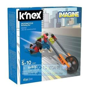 K'Nex Starter Vehicle Building Set 61 Pcs Construction Toy for Kids- Motorcycle