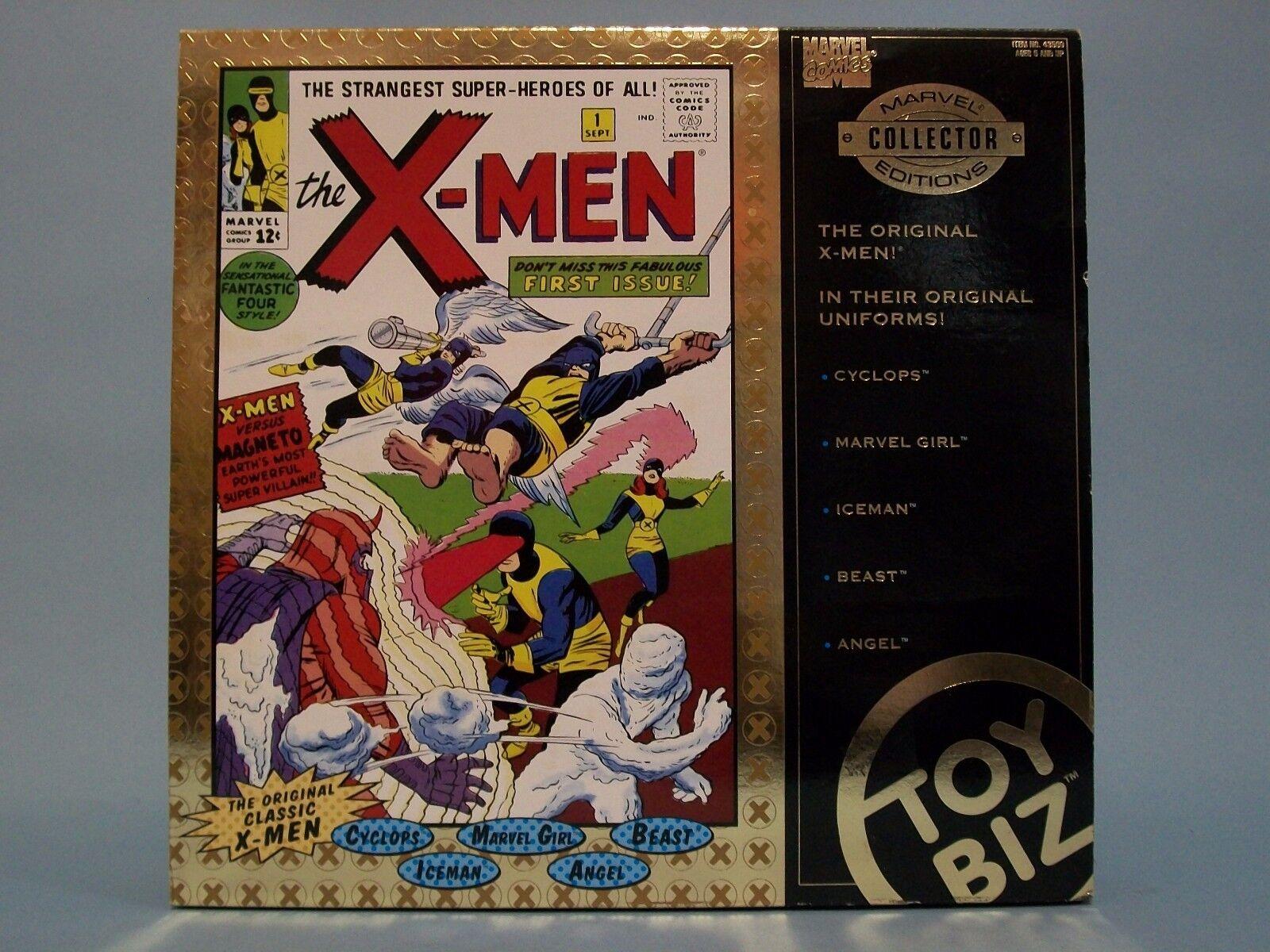 ToyBiz Marvel Collector Editions The Original X-Men Marvel Marvel Marvel Comics Figures 496300