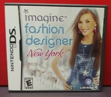 Nintendo Ds Imagine Fashion Designer New York Video Game Ubisoft Ebay