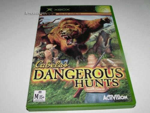 1 of 1 - Cabela's Dangerous Hunts Xbox Original PAL Preloved *No Manual*
