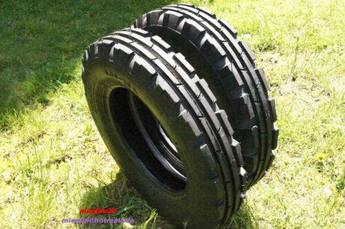 2 Reifen 5.50-16 AS Front Reifen 550-16 ASF Ackerschlepper Reifen 6PR BKT