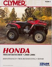 Clymer Repair/Shop Manual Honda TRX350 Fourtrax Rancher 2000-06 M2002