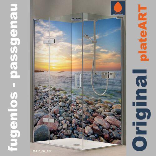 Azulejos pegatinas azulejos imagen muro irruptivo playa mar palmeras sol de agua