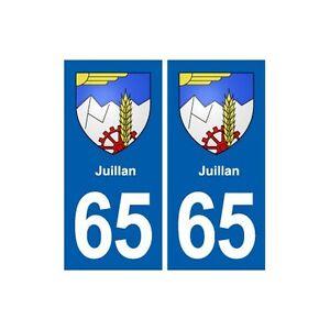 65-Juillan-blason-autocollant-plaque-stickers-ville-droits