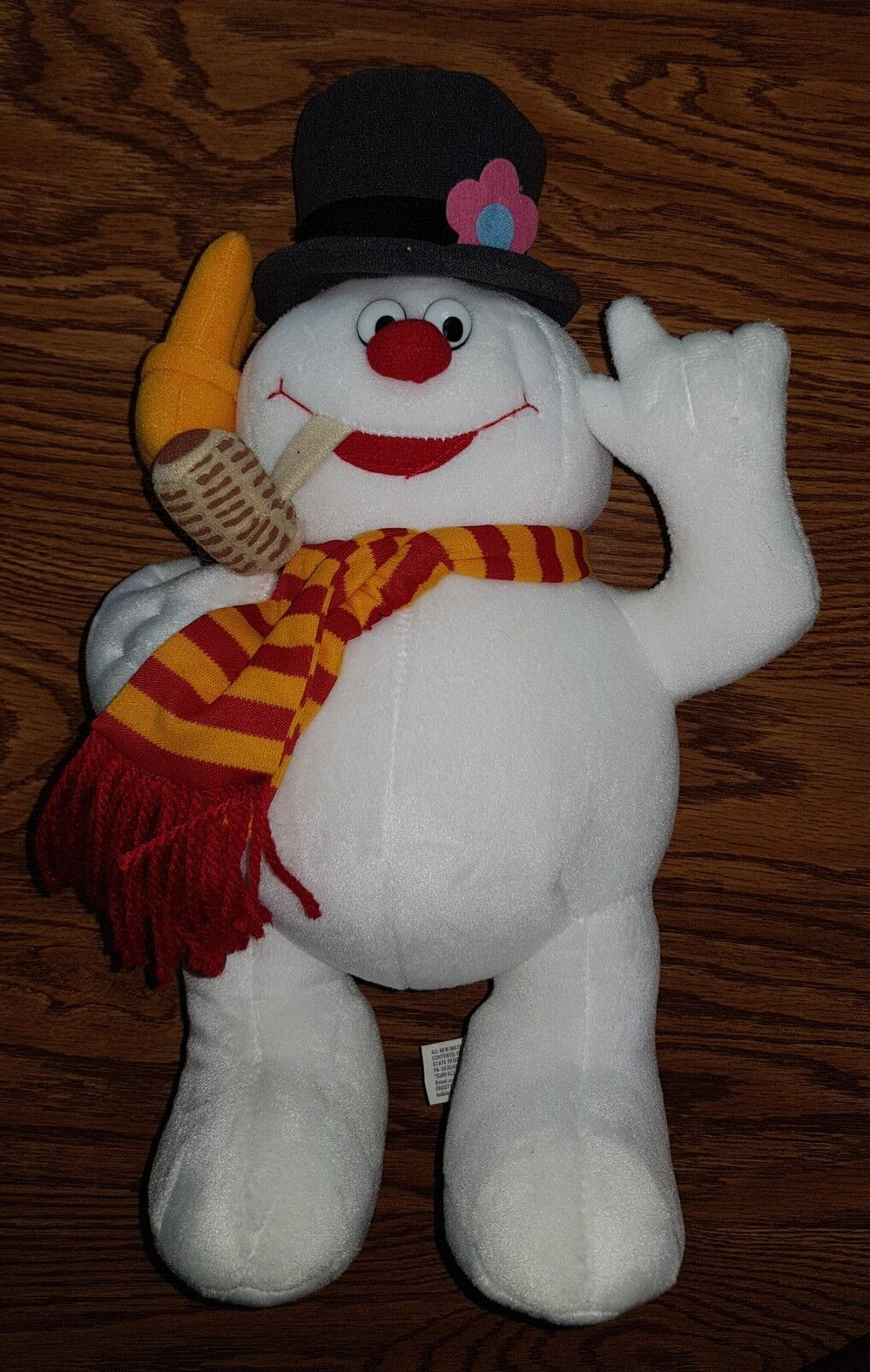 RARE 1999 Rudolph Christmas Frosty the Snowman Stuffins Plush Stuffed Animal