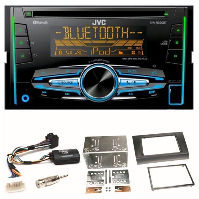 JVC KW-R920BT Bluetooth CD USB AUX MP3 Einbauset für Suzuki Swift Sport EZ MZ