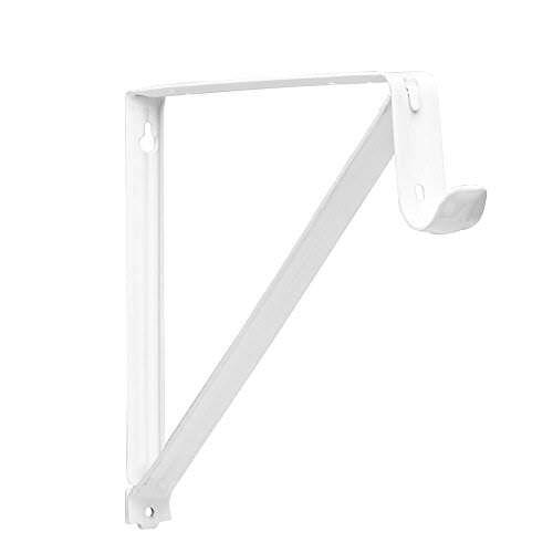 7x John Sterling Rp 0045 Wt Shelf And Rod Closet Bracket White | EBay
