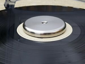 Stainless-Steel-Record-turntable-stabilizer-weight-Approx-360-grams