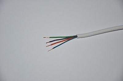 Alarme S/écurit/é /& Signal cble 6 C/œur Cuivre 100 m bobine Blanc