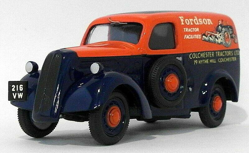 Somerville Models n 107 'Fordson 5CWT Van 'Colchester Tractors', Weiß Metal, ne