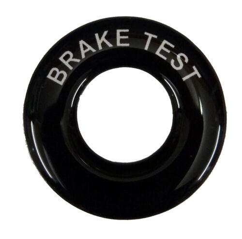 Lucas Toggle Switch Round Dash Tag Classic Car Kit Hot Rod BRAKE TEST