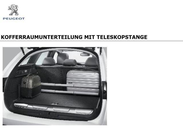 Original Peugeot 308 SW Serie 2, 508 SW Kofferraum Halter mit Teleskopstange